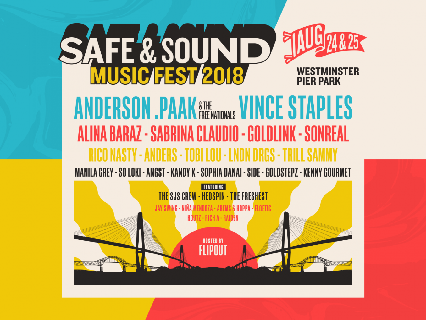 Safe & Sound Festival Brings Top-Tier Lineup To The West Coast